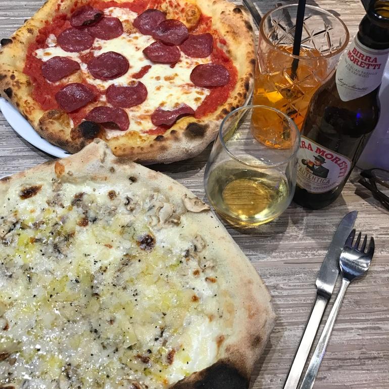Dinner at Pizza & Via, Nuremberg